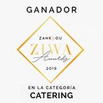 Premio Ziwa a Salsia Catering Bodas